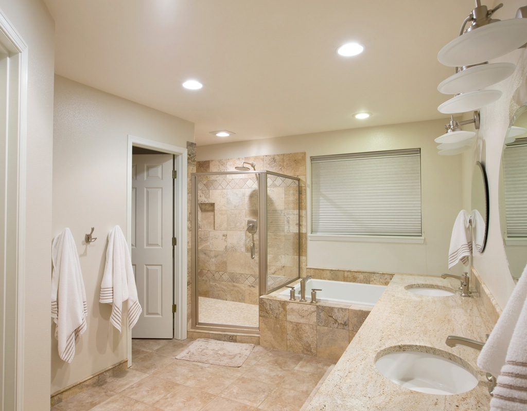 Bathroom remodel bathroom design fdr contractors for Remodeled bathrooms